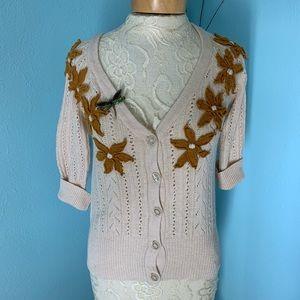 Anthropologie Nick & Mo Cardigan sweater